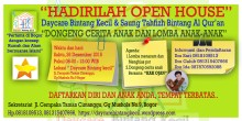 Spanduk Open House